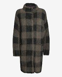 rag & bone Cammie Oversized Gingham Coat