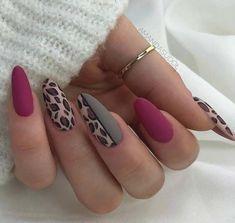 Acrylic Nails Natural, Almond Acrylic Nails, Fall Acrylic Nails, Autumn Nails, Natural Nails, Acrylic Gel, Fall Almond Nails, Crackle Nails, Almond Nail Art