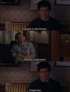 Imaginary Friend - Donnie Darko - Online #Movie #Quote