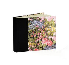 """Beautiful new Photo Album """"Monet's Garden"""" Square 6-1/4 x 7-3/4 30 double pages $34 #wolfiesbindery"""