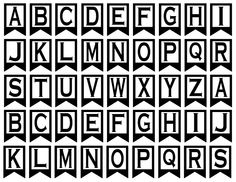 Printable Alphabet Letters A Z | Printable Banner Letters | Personalize U2026