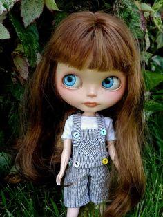 Love her Eye color     OOAK Custom Blythe doll -MUGUET- by Marina