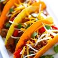 Sloppy Joe Tacos | gimmesomeoven.com Game Day Grub! Super Bowl Party Food and Snack Ideas #football #superbowl #superbowlparty