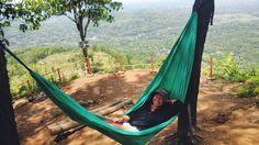 """When in doubt hammock it out"" -Critical Cactus-  #hammock #hammockchill #hammocking #hammocklife #hammockid #chill #enjoylife #yolo #traveling #exploreindonesia #explorejogja #wanderer #wanderlust #exploremore #neverstopexploring #mothernature #latepost #imogiri #traveler #indonesia #jogja #travelgram #journesia by @pencitraan"