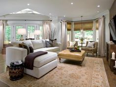 Eclectic Mix - Top 12 Living Rooms by Candice Olson on HGTV