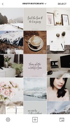A Color Story - Die Allrounder-App für Instagram - But first, create! Likes No Instagram, Feeds Instagram, Instagram Grid, Instagram Story, Instagram Posts, Instagram Design, Instagram Feed Theme Layout, Trending Instagram Hashtags, Blog Layout