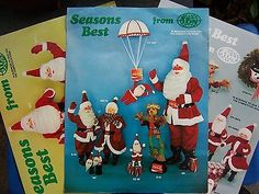 3-RARE-HAROLD-GALE-SANTA-COKE-7-UP-AND-DR-PEPPER-1970S-MAILERS-PRICE-LIST