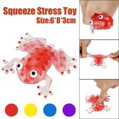 Sjov Antistress Kawaii anti-stress 6cm Perle Stress Ball Sticky Squeeze  Frøer Legetøj Legetøj Den bedste gave til voksne og børn Q1 4abf59dc832