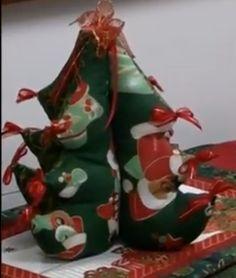 Vanecroche e patch: Árvore de Natal patchwork com passo a passo