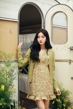 Korean Girl Fashion, Korean Fashion Trends, Asian Fashion, Unique Fashion, Trendy Fashion, Cute Maternity Outfits, Cute Comfy Outfits, Pretty Outfits, Pretty Dresses
