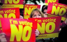 Referendo de setembro pode dissolver Reino Unido | #MargaretTatcher, #Plebiscito, #Referendo, #ReinoUnido, #Unionistas