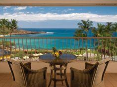 Terraces with Unbelievable Views: Four Seasons Lanai at Manele Bay.