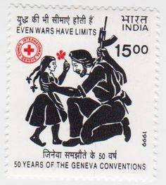 India Red Cross Stamp.