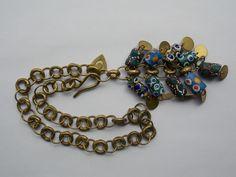 FAB Designer Stile Vintage Grande e Robusto africana del commercio Perline Collana Catena in Jewellery & Watches, Vintage & Antique Jewellery, Vintage Costume Jewellery | eBay