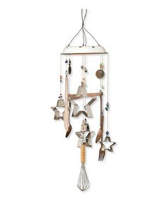 Another great find on #zulily! Cookie Cutter Wind Chime #zulilyfinds