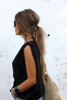 5 εύκολα χτενίσματα για μακριά μαλλιά