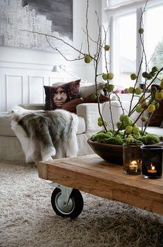 HANNE AND SØREN again. Merry Christmas in their home. baraperglova.com/blog