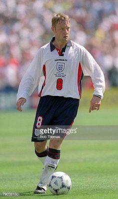 World Cup Finals Marseille France 15th June England 2 v Tunisia 0 England's David Batty