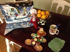 Breakfast from the elf