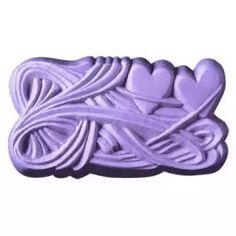 2 Hearts Soap Mold