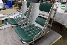 Hot Rod Seats Stainless / Aluminum | Metal Shaping / Fabrication by Sollis