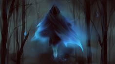 Ghost, Scott Gamble on ArtStation at https://www.artstation.com/artwork/oOEnJ