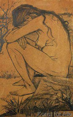 Vincent van Gogh - Sorrow, 1882