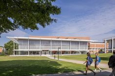The Watt Family Innovation Center, Designed by Perkins+Will enables undergraduate and graduate students from all Clemson colleges to think ahead of the curve Education Architecture, Architecture Colleges, Innovation Centre, Cultural Center, Higher Education, Elementary Schools, University, United States, Exterior