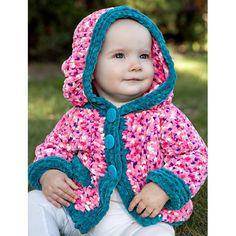 Knitting Patterns Galore - Baby Hoodie