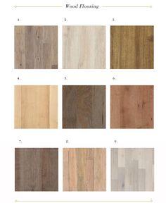 Distressed flooring options