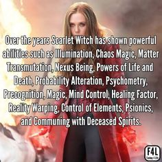 Scarlet Witch Fact 10