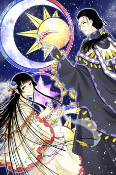 Yuuko Ichihara X Clow Reed, xxxHolic  There isn't nearly enough Clow and Yuuko in any medium. Glad to find this!