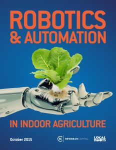 We just released a white paper on robotics and automation in indoor agriculture.  Join more than 1,000 others in downloading our white papers at https://indoor.ag/whitepaper