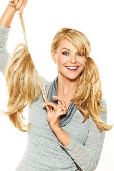 Find The Pony Hair Piece by Christie Brinkley. add-on perfect for adding length and filling in your own ponytail. Ponytail Wrap, Natural Hair Styles, Short Hair Styles, Ponytail Extension, Hair Extension Care, Tousled Hair, Christie Brinkley, My Hairstyle, Hairstyles