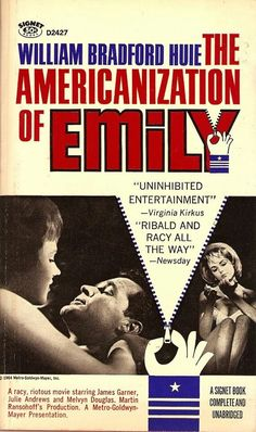1964 The Americanization of Emily Poster. Julie Andrews and James Garner