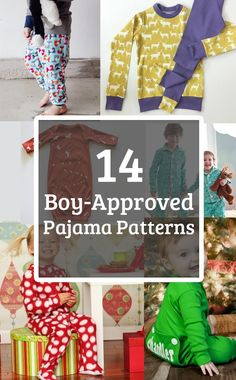 14 Boy Approved Pajama Patterns by Sewing Blue