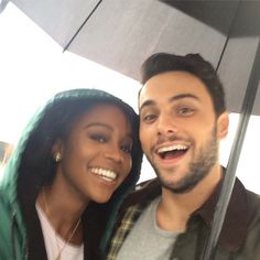 Aja Naomi King and Jack Falahee Mixed Couples, Couples In Love, Black Woman White Man, Black Love, Cute Relationships, Relationship Goals, Couple Goals, Divorce, Jack Falahee