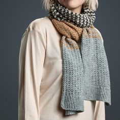 Classics Arkiv | Designer Sanne Fjalland Handmade Scarves, Chrysanthemum, Yarn Crafts, Knit Crochet, Knitting, Scarfs, Cardigans, Design, Fashion