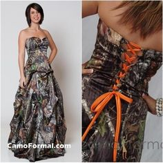 I found 'Camo Prom Dress' on Wish, check it out!