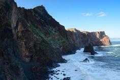 North side cliffs of Ponta do Sao Laurenco