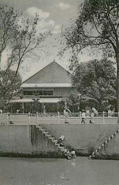 Grand Hotel Java in Rijswijk te Batavia. 1905