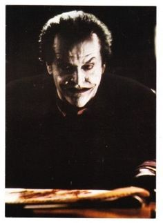POSTCARD~JACK NICHOLSON AS THE JOKER FROM THE BATMAN MOVIE-CR 1989 DC COMICS-NEW