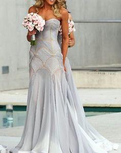 Unique bridesmmaid dresses #wedding #bridesmaids - MyBrideGuide.com