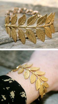 Golden Laurel Bracelet