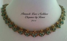You're going to love Pinnacle Lace Necklace by designer Renee Kovnesky.