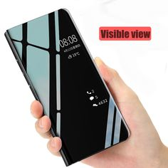 Smart Mirror Flip Phone Case For Huawei Honor Max 20 10 9 Lite Clear View Cover Portafoglio Spec P Smart 2019 Cases Unicorn Phone Case, Flip Phone Case, Flip Phones, New Phones, Cell Phone Cases, Samsung Accessories, Cell Phone Accessories, Window Mirror, Window View