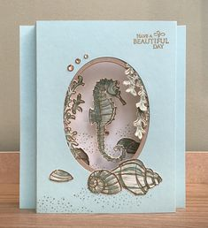 Masculine Birthday Cards, Masculine Cards, Fancy Fold Cards, Folded Cards, Horse Cards, Nautical Cards, Beach Cards, Stampinup, Interactive Cards