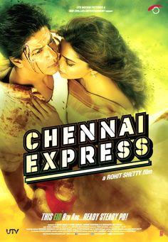 'Chennai Express' poster #Bollywood