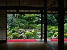 穴太寺:方丈よりの眺め