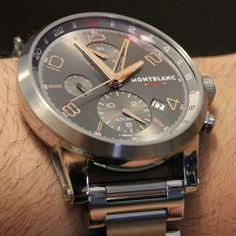 10990c72f44 Montblanc Timewalker ChronoVoyager UTC Watch